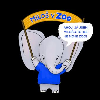 Miloš v zoo